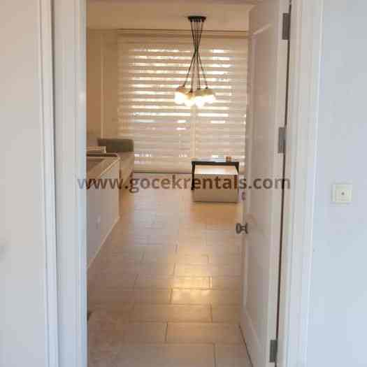 2 BR Downtown Holiday Apartment to Let in Gocek