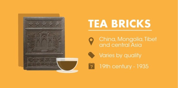 Tea bricks