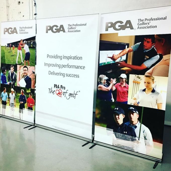 More Display Stands for @thepga