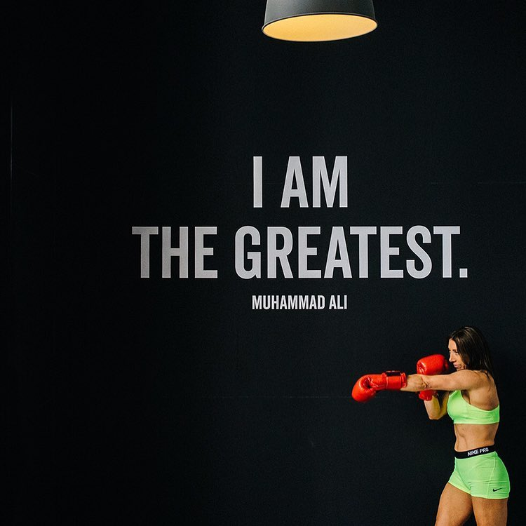 It's Monday 🥊💪#mondaymotivation #monday #motivation #creative #print #signage #muhammadali #boxing #fitness #signature #signaturefitness #graphicdesign #rachaelryanphotography