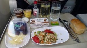 Azura caribbean flight meal