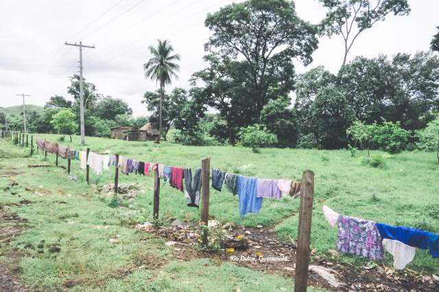 Laundry Day in the Countryside