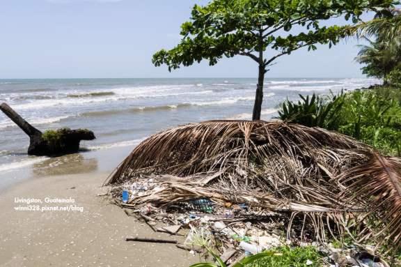Littered Beaches