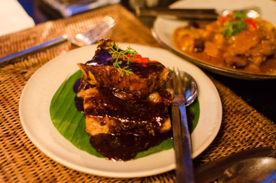 Tamarind Glazed Pork Ribs