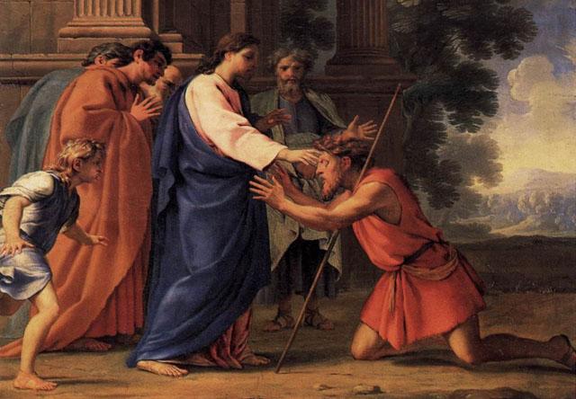 Результат пошуку зображень за запитом сліпий на дорозі до Єрихону