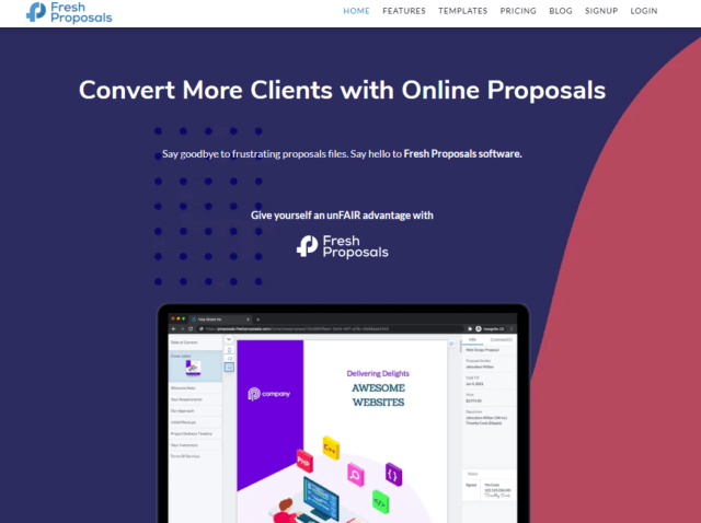 Fresh Proposals Content Tools for Web Developers & Designers