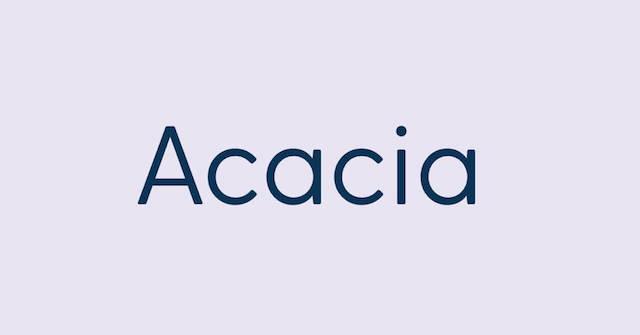 san-serif acacia