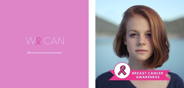 Breast cancer awareness ad