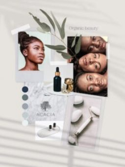Sample of vision board for Acacia example