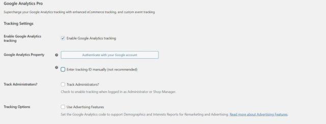 Google Analytics WooCommerce Integration