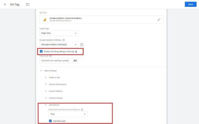 Google Analytics WooCommerce Override