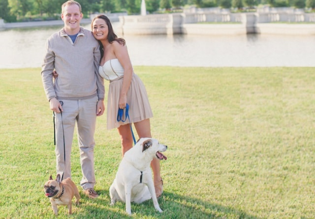 Blogging For A Living Michelle Schroeder-Gardner Husband and Dogs