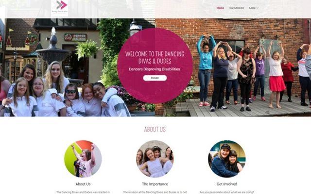 Dancing Divas And Dudes Website