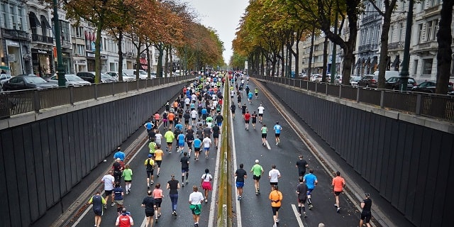 City Hosting A Marathon
