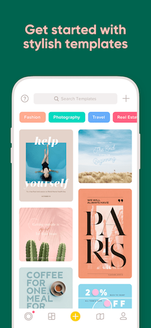 Over App Template