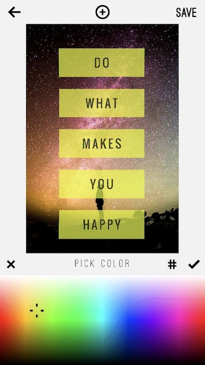 Pinterest On Mobile Color