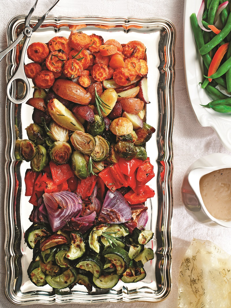 Rosemary Roasted Winter Vegetables