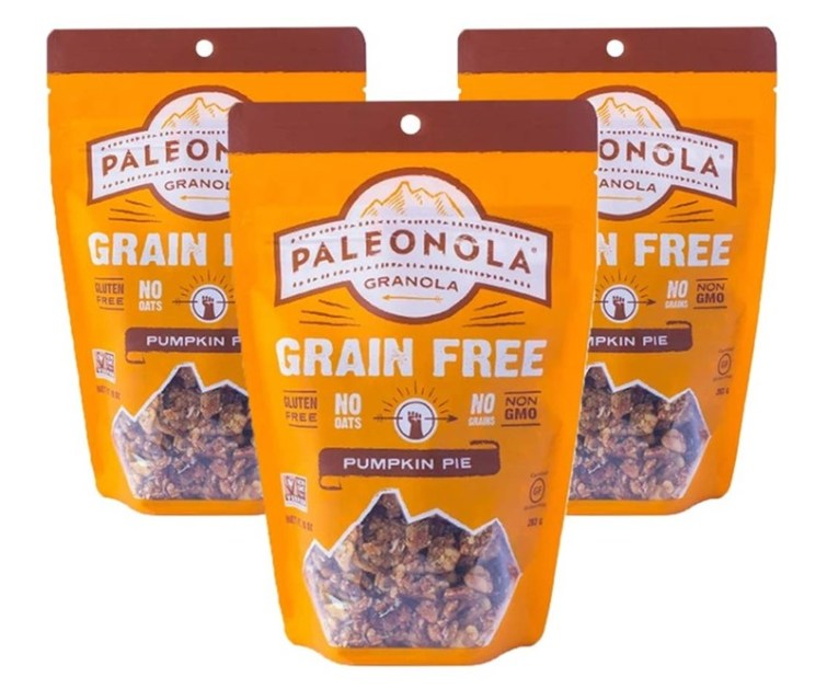 50 Dairy-Free Pumpkin Spice Sweets, Snacks, and More! Pictured: Paleonola Grain-Free Granola
