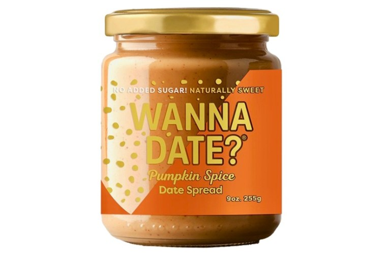 50 Dairy-Free Pumpkin Spice Sweets, Snacks, and More! Pictured: Wanna Date Spread