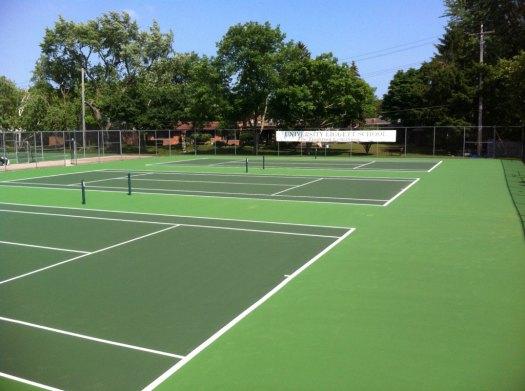 Tennis Court Construction Michigan | GTS