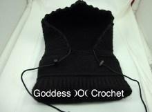 Crochet Pattern - 6 in 1 Neckwarmer Hood