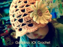 Free Crochet Pattern - Little Lady Hat