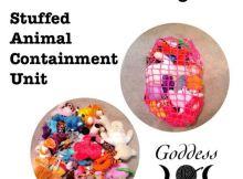 Free Crochet Pattern - S.A.C.U. Bag (Stuffed Animal Containment Unit)