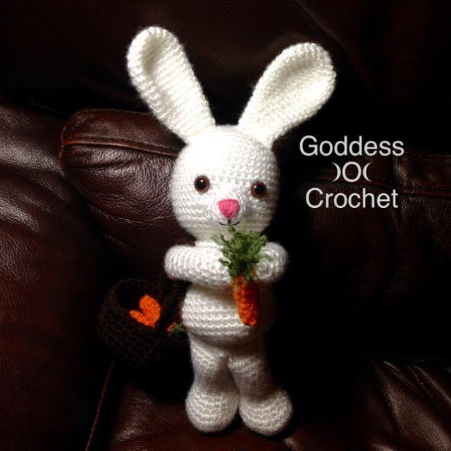 Sweet bunny amigurumi in dress - Amigurumi Crochet | 640x640