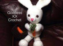 Free Crochet Pattern - Amigurumi Bunny Rabbit