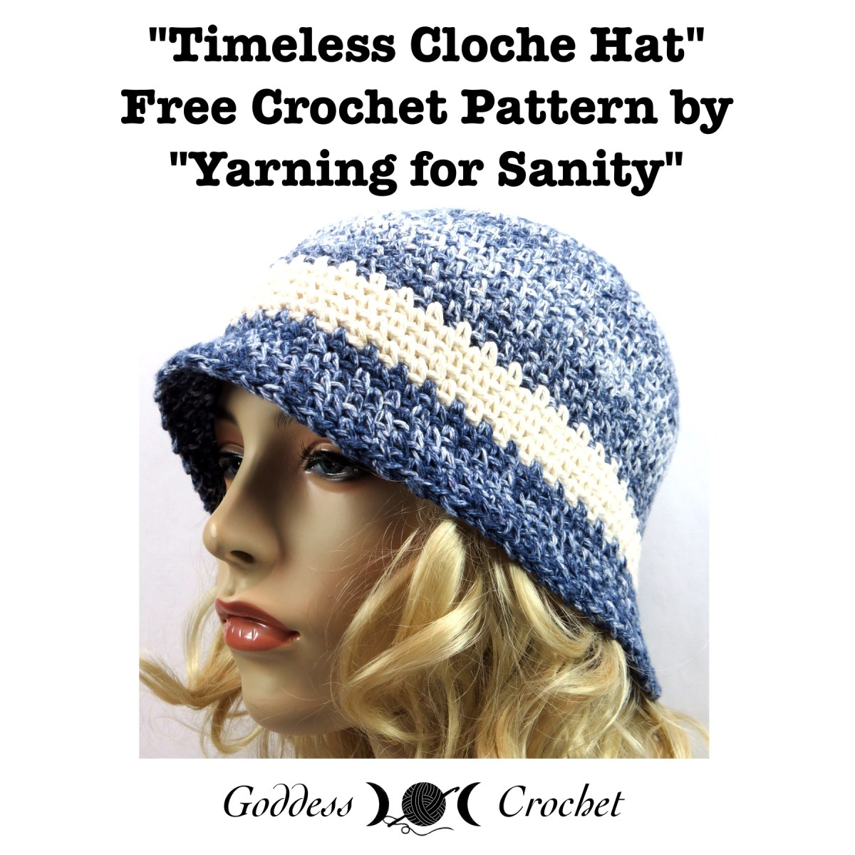 Timeless Cloche Hat Free Crochet Pattern Goddess Crochet