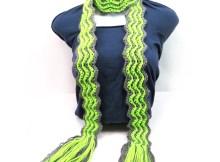 Skinny Ripples Scarf - Free Crochet Pattern