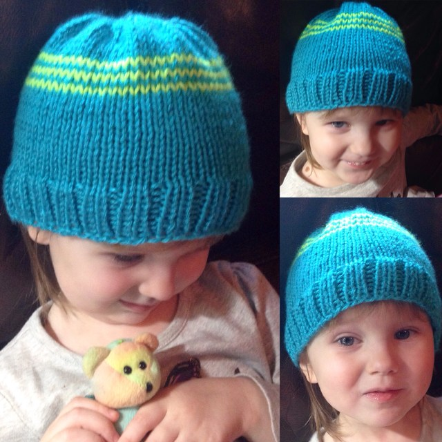 knitted hat, goddess crochet