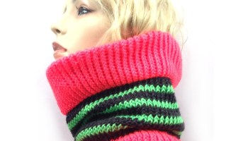 Puzzled Cowl – Free Knitting Pattern – Goddess Crochet