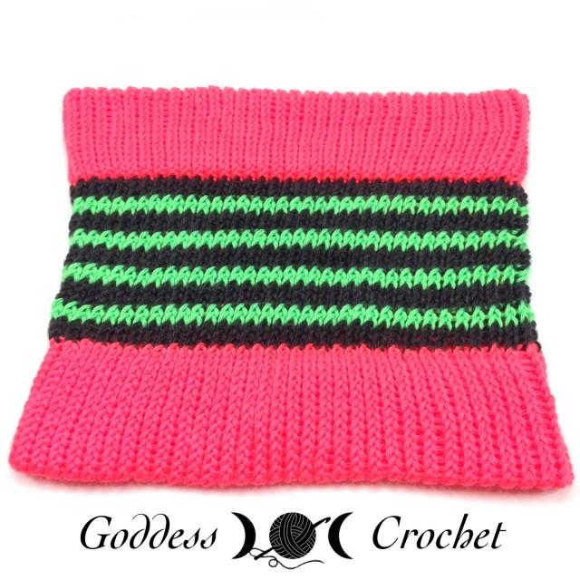 Loom Knit Cowl Free Pattern Goddess Crochet