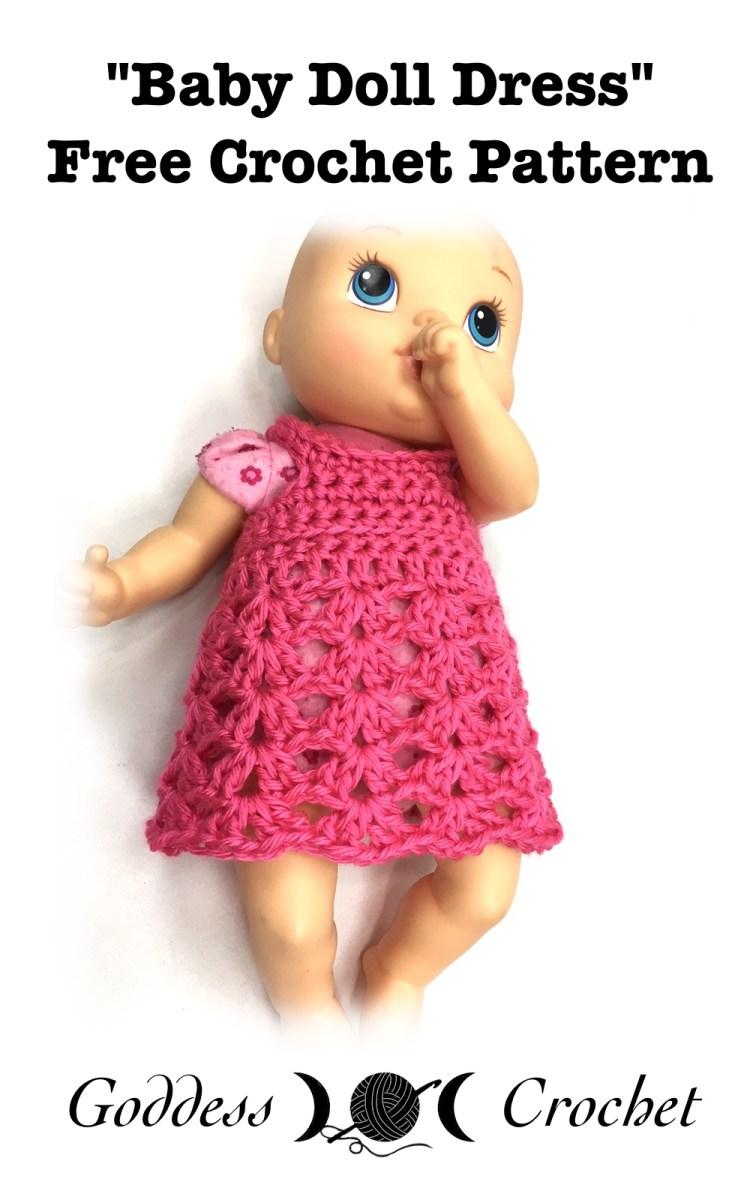 Baby Doll Dress – Free Crochet Pattern – Goddess Crochet