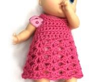 Baby Doll Dress - Free Crochet Pattern