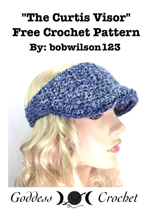 The Curtis Visor - Free Crochet Pattern