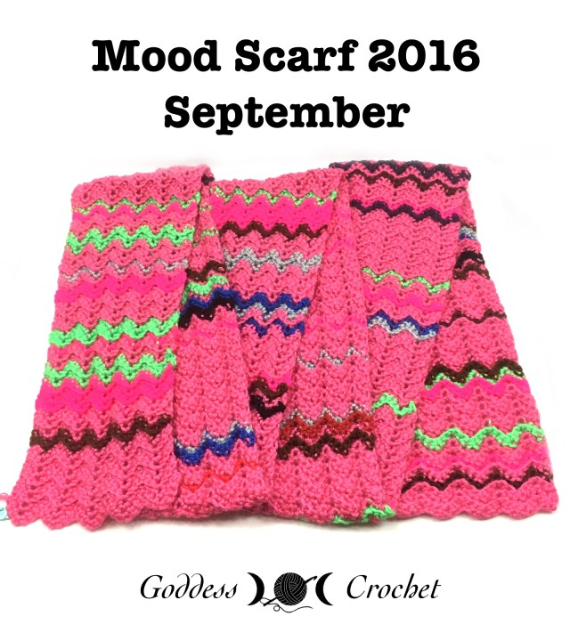 Mood Scarf 2016 - September