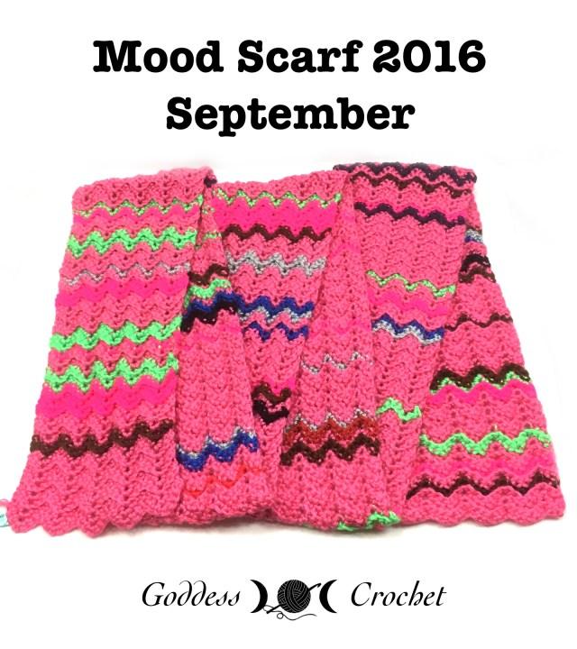 Mood Scarf 2016 - September