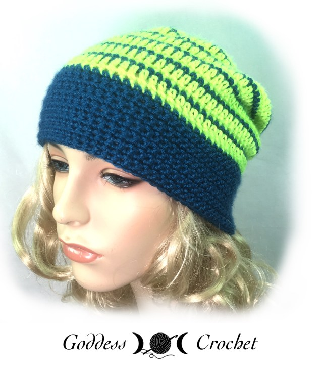 Pinstripes Hat - Goddess Crochet