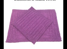 """Speed Bump"" Kitchen Set - Free Knitting Patterns"