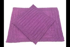 """Speed Bump"" Kitchen Set - Free Knitting Patterns"