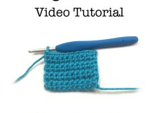 Single Crochet Video Tutorial