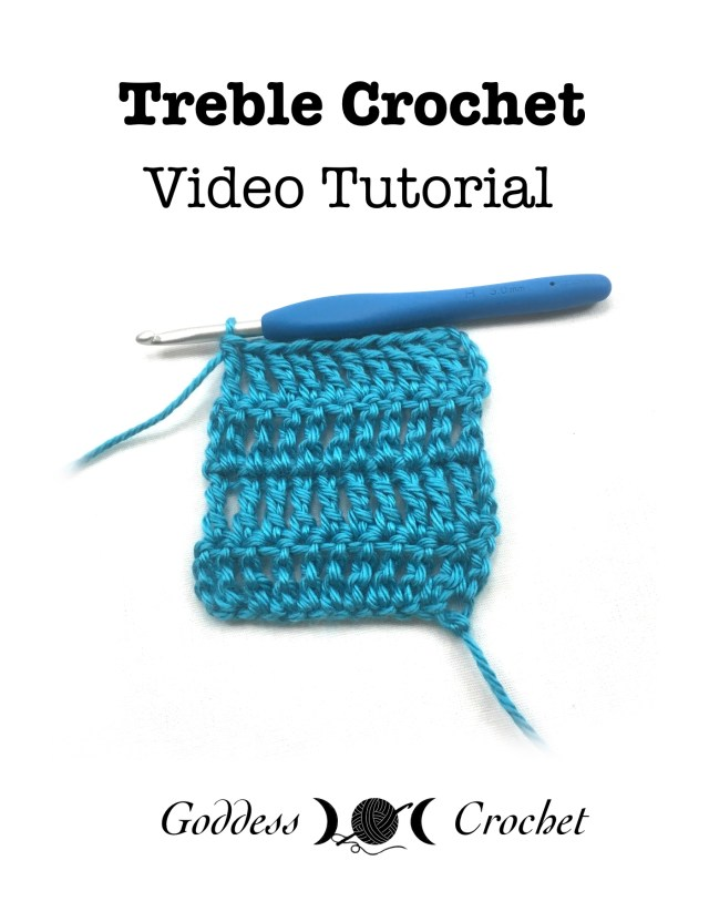 Treble Crochet Video Tutorial