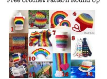 Rainbows - Free Crochet Pattern Round Up