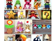 Super Mario Bros. - Free Crochet Pattern Round Up