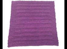 Speed Bump Dishcloth - Free Knitting Pattern