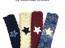 Picnic Pocket Napkin - Free Crochet Pattern by American Crochet