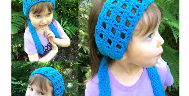 Little Hippie Headband - Free Crochet Pattern