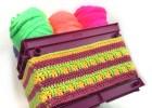 Mini Milk Crate Cover - Free Crochet Pattern